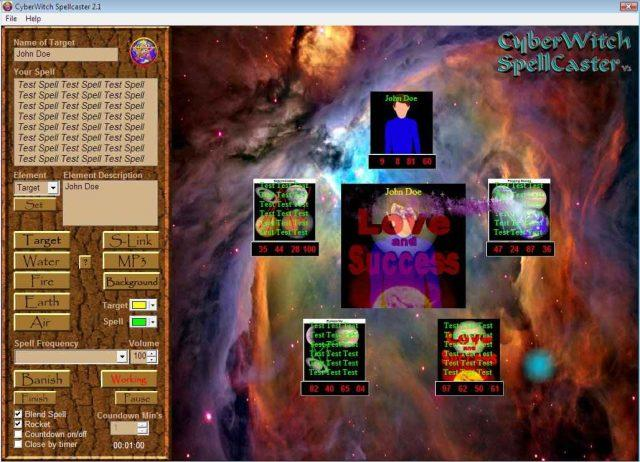 cyberwitch spellcaster radionic software for Orgone powered radionics