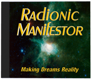 Radionic Manifestor CD radionics software
