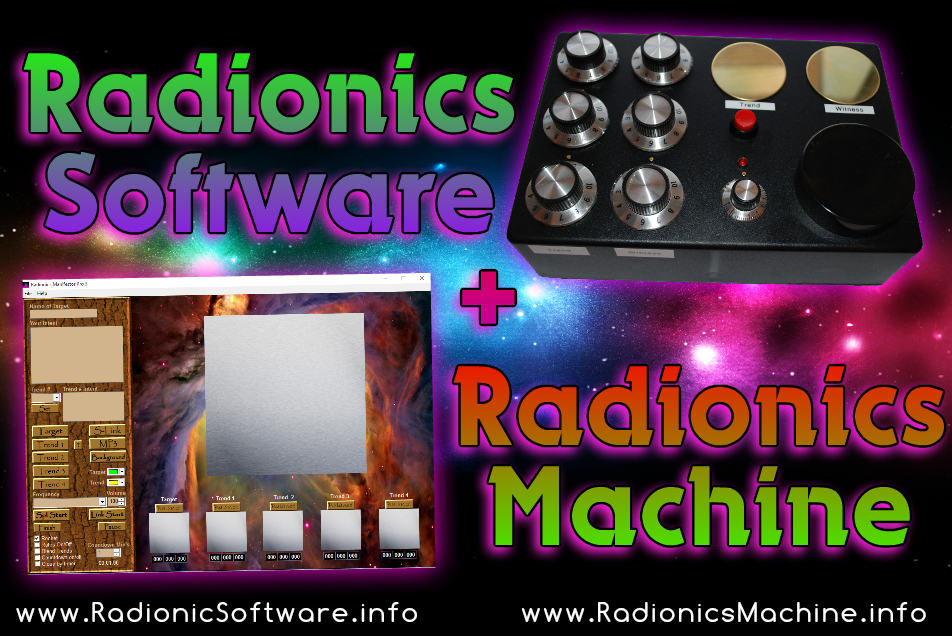radionics machine software