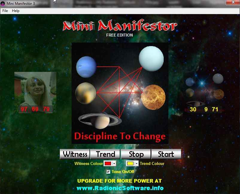 Mini Manifestor Free Digital Radionics Software