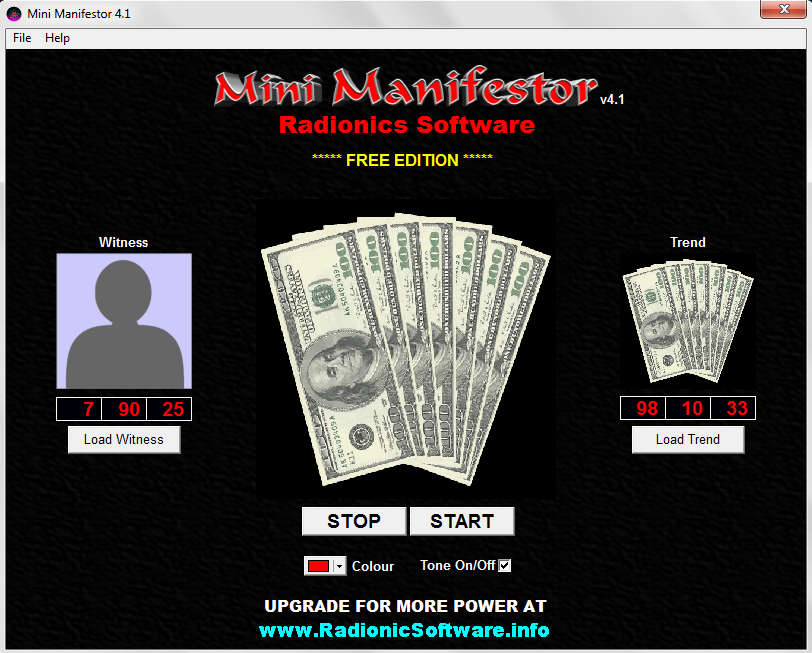 New Mini Manifestor 4.2 Free Radionics Software