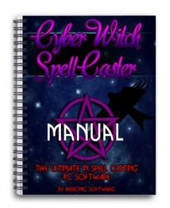 cyber witch spellcaster occult spell radionic software pentagram manual