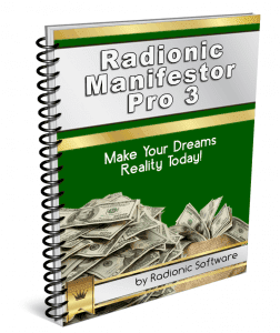 radionic software Radionic Manifestor Pro 3 Manual