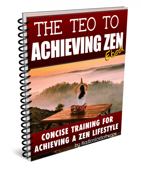 The Teo TO ACHIEVING ZEN
