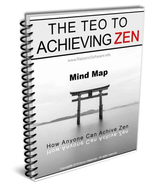 The Teo of ZEN mind map cover