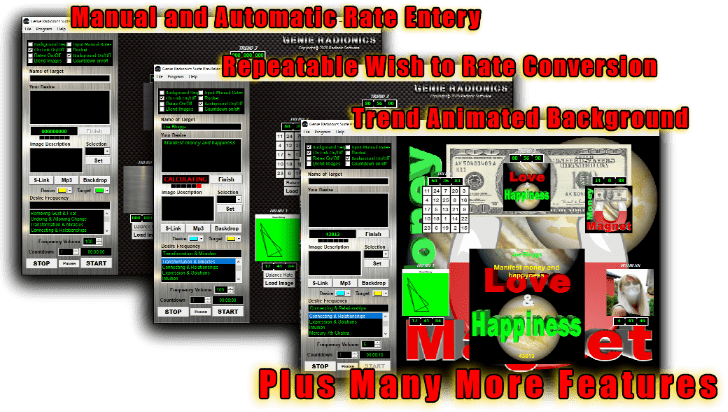 radionics software features